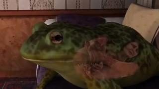 Catoon Tube : Damsel Gets Eaten by a Giant Frog