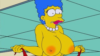 Catoon Tube : The Simpsons Large Marge