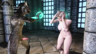 Catoon Tube : Sexy SkyrimJizzargo is very sure of Himself