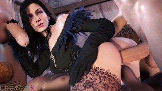 Catoon Tube : Best of Yennefer 3d with Sound The Witcher 3