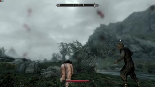 Catoon Tube : Skyrim trying out Sanguine Debauchery Slavery Mod