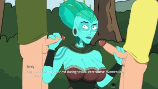 Catoon Tube : Rick and Morty  a way back Home Part 27 she Loves many by LoveSkySan69